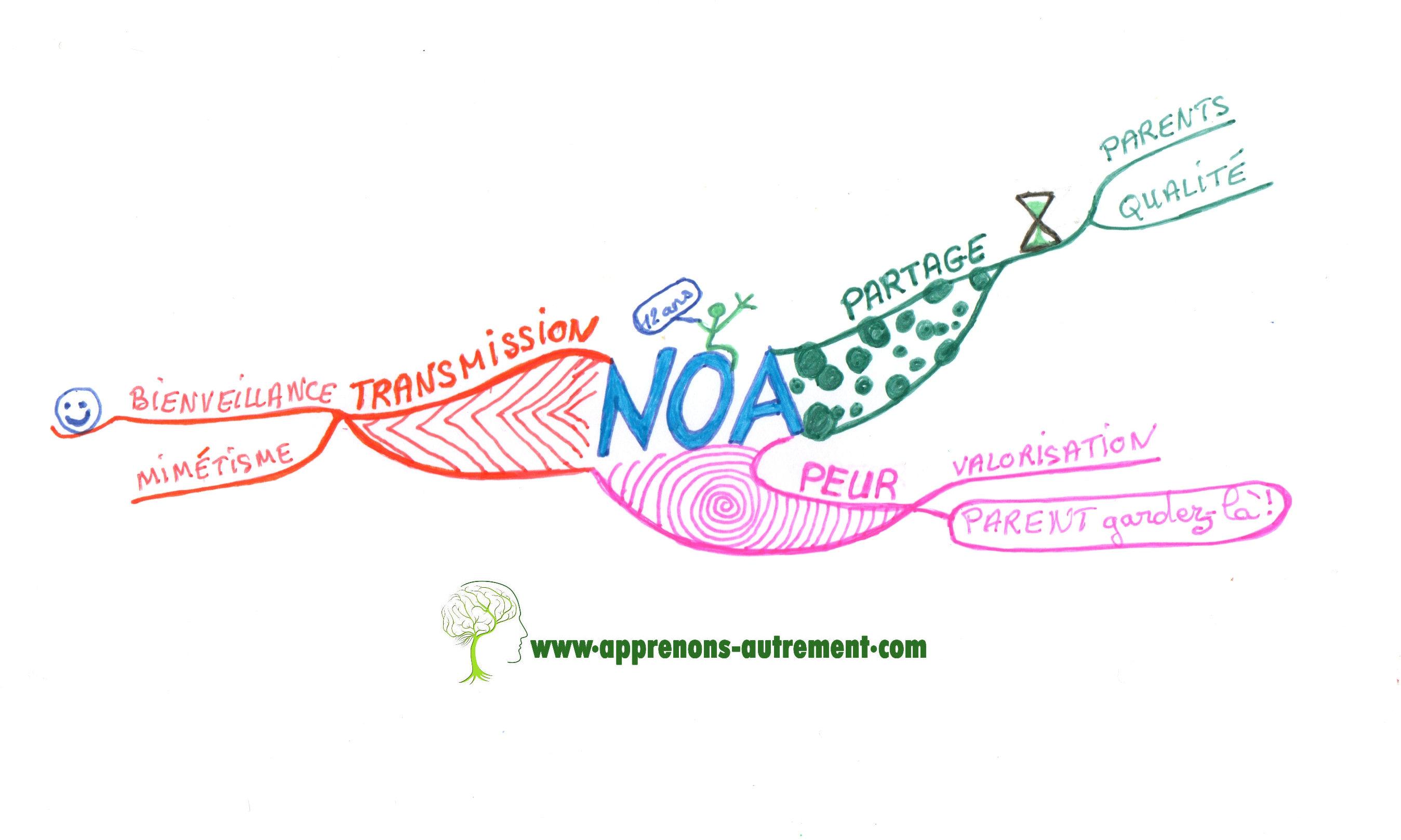 Voilà, j'espère avoir été fidèle aux messages que Noa voulait nous donner et merci pour ta conférence.