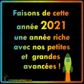 2021 Bonne annee