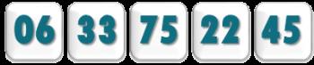Numero tel 5